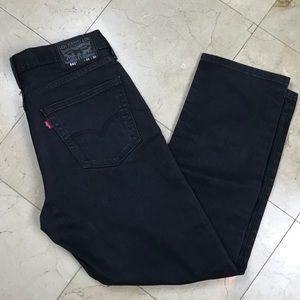 Levi's 541's Black Denim EUC